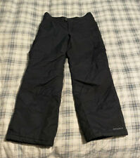 COLUMBIA Snow Ski Pants Youth Size Medium (14/16) BLACK