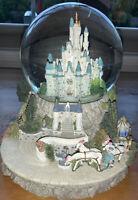 "Vintage Disney Cinderella ""So This Is Love"" Snow Globe Magic Kingdom Castle 🏰"