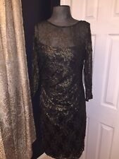 DAVID MEISTER NWT EVENING COCTAIL DRESS SZ 12 $495 retail