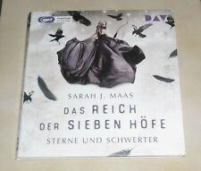 HÖRBUCH / 3 CD MP3 - DAS REICH DER SIEBEN HÖFE 3 STERNE UND SCHWERTER -S.J. MAAS