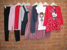 NEXT TU BLUEZOO MNNIE MOUSE etc Girls Bundle Dress Tops Jeans Age 5-6 116cm