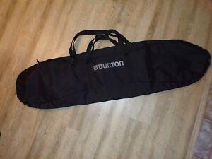 Burton snowboard 166 board bag carry case strap handles 538
