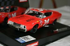 Carrera Evolution 27521 Ford Torino Talladega Wendell Scott Nr. 34 USA Neuheit