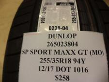 DUNLOP SP SPORT MAXX GT (MO) 255 35 18 94Y BRAND NEW TIRE 265023804 Q8