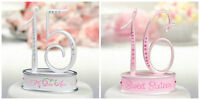 Sweet 16 or Mis Quince Anos Cake Topper Birthday Party Decoration