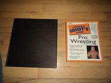 2 Wrestling Books WWE WWF Hulk Hogan Goldberg Andre Giant Ric Flair Stone Cold
