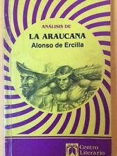 La Araucana (The Araucan Woman) by Alonso De Ercilla (Paperback, Student...