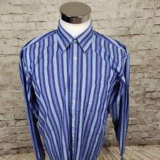 Ted Baker London Mens Dress Shirt ASize 16.5 (36/37)) Striped Standard Cuff