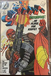 Superman #4 (Apr 1987, DC)