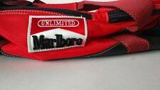 Vintage Marlboro Unlimited Red Duffel Bag Large Removable Backpack