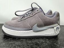Nike Air Force 1 bufón lo Gris Plata para Mujer Talla 8.5 Nueva BQ3163 001