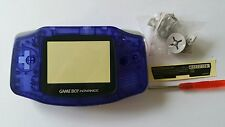 HOUSING POUR GAMEBOY ADVANCE CLEAR BLUE NEW