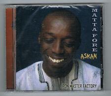 MATTA FORE - ASKAN - 14 TRACKS - 2011 - NEUF NEW NEU