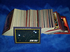 Star Trek : 25th Aniversary Series 1 & 2 - complete set of 310 - 1991 Impel