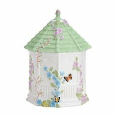 Lenox Butterfly Meadow Figural Gazebo Cookie Jar, 10Inch New, Free Shipping