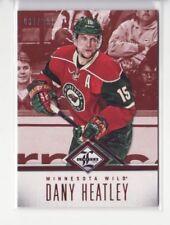 2012-13 Limited #143 Dany Heatley 030/299 Base Card - Flat S/H