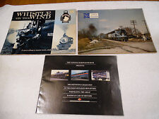 Whistle on the Wind Railroad Cars of History Train Calendar 1984 GC 17-3H