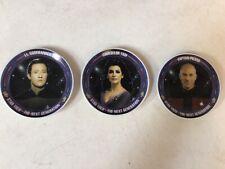 X3 Collectible Star Trek Hamilton Collector Mini Plates 1992