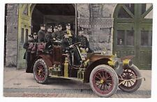 Newark NJ - SALVAGE CORPS - FIRE DEPARTMENT - Postcard Early Auto