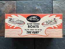 Vintage Fleet Line The Fury Battery Powered Boat Item #6080