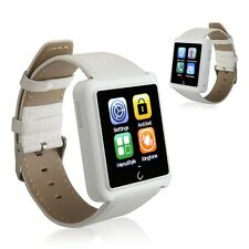 "White 1.54"" U10L Bluetooth Smart Wrist Watch Phone Mate for Andriod and  IOS"