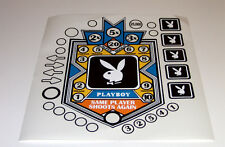 Bally PLAYBOY Pinball Machine Playfield Insert Decals UV Cured Inks Not INKJET