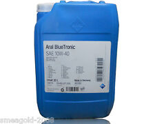 20 Liter Aral BlueTronic 10W-40 Motoröl VW 501 01/ 505 00