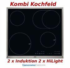 Kombi Kochfeld AEG HK634150XB Autark 2 x Induktion 2 x Ceran Glaskeramik NEU