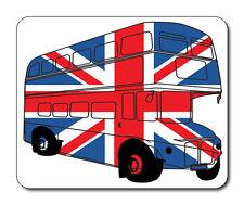 Best of British, London Bus Mouse Mat - Union Jack Flag