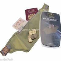 Travel Money Belt Security Pouch For Cash Passport Bum Bag Hidden and Comfy