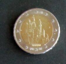 """2 euro-speciale moneta """"J"""" Baviera """"castello neuschwans Tein"""" memorizzare anno 2012 da circolazione"""