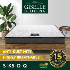 Giselle Mattress QUEEN KING SINGLE DOUBLE Bed Mattresses Spring Firm Foam 16cm
