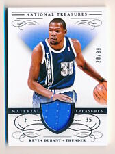 2013-14 National Treasures Kevin Durant Material Treasures Jersey (xx/99) - QTY