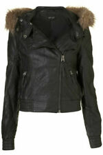 Topshop Bomber Coats, Jackets & Waistcoats Fur Outer Shell for Women