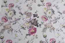 "DESIGNERS GUILD CURTAIN FABRIC DESIGN ""Ophelia"" 3.2 METRES ORCHID 100% COTTON"