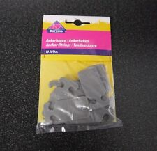 Dorema Awning Anchor Fittings - Pack of 10 - Caravan Awning Spare  - 50452V