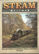 *STEAM RAILWAY MAGAZINE No 53 - SEPTEMBER 1984 - ft BULLEID PACIFIC [N2]