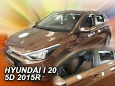 HYUNDAI i20  II  2015 -    5.doors Wind deflectors  4.pc HEKO 17283