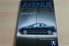 107542) Peugeot 307 CC - 206 RC - Peugeot Avenue 02/2003
