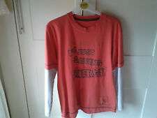 boys long sleeved t-shirt M&S 9-10 Years 100% Cotton Used in Good Condition