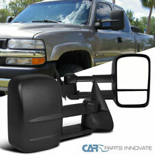 For 99-07 Chevy Silverado GMC Sierra Pickup Manual Extending Towing Mirrors
