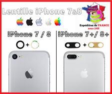 IPHONE 7- 8 et 7+ 8+ Lentille vitre arrière caméra appareil photo Lens verre