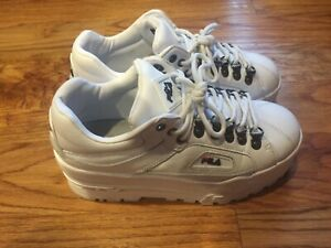 fila wedge sneakers trailblazer
