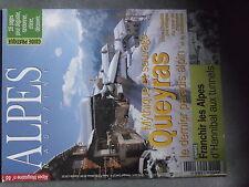 $$ Revue Alpes Magazine N°86 Queyras  franchir les ALpes  Genepi  vautour fauve