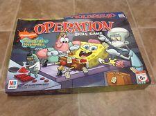 SpongeBob SquarePants edition Operation Milton Bradley+ Nickelodeon Magnet