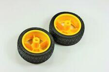 "Smart Car Robot 2.5"" Wheels, Pair (2 wheels)"