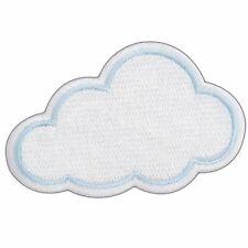 Cute Pretty White Cloud Cartoon Children Kids Girls Boys Iron-On Patches #AT019