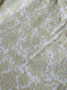 Rare Ralph Lauren Paisley Green Flat Sheet Full/Double