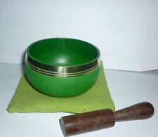SET CAMPANA TIBETANA BUDDHA REALIZZATA MANO A+ EBOOK sette metalli artigianale