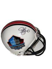 Troy Polamalu Autographed Pittsburgh Steelers Hall Of Fame Mini Helmet BAS 27456